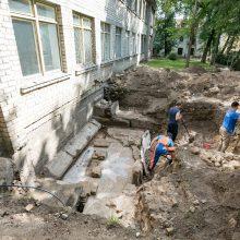 Bus atidengtas Didžiojoje sinagogoje rastas rūsys – vienintelis toks Lietuvoje