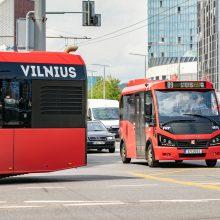 Dieną be automobilio sostinės viešasis transportas veš nemokamai