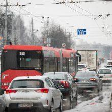 Sostinės Verkių ir Kareivių gatvėse – laikini eismo ribojimai
