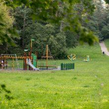 Sostinės mažiesiems – 50 naujų vaikų žaidimo aikštelių