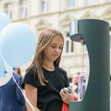 Vilniečiams atsigaivinti – penki nauji geriamojo vandens fontanėliai