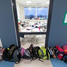 Grįžtantiems 5-11 klasių mokiniams pamokos galės vykti nekeičiant kabinetų