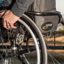 Judėjimo negalią turintiems žmonėms pritaikyta tik kas penkta įstaiga