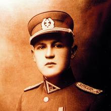 Vyriausiasis partizanų vadas, Lietuvos Laisvės Kovos Sąjūdžio Prezidiumo pirmininkas generolas Jonas Žemaitis