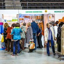 Areną okupavo lietuviškos prekės