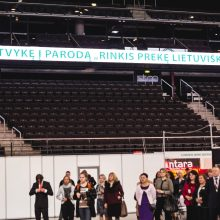 """Rekordinėje parodoje """"Rinkis prekę lietuvišką"""" pirmąkart apdovanoti geriausieji"""