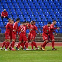"""""""Panevėžys"""" sutriuškino Vilniaus """"Riterių"""" ekipą ir žengė į LFF taurės finalą"""