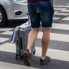 Alkoholis privirė košės: apie sprogmenį lagamine pranešęs vyras turės sumokėti tūkstančius eurų