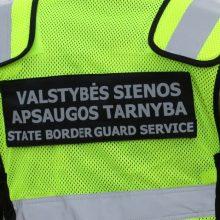 Sulaikyti trys kontrabandos organizavimu ir piktnaudžiavimu įtariami pasieniečiai