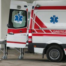 Į ligoninę paguldytas Vilniaus pėsčiųjų perėjoje partrenktas vyras