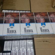 Baltarusijos pilietė į Lietuvą bandė įvežti kontrabandą: cigaretes slėpė automobilyje