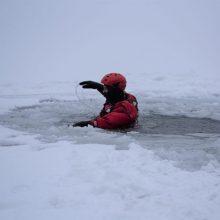 Telšių rajone tvenkinyje nuskendo vyras: kūnas rastas po ledu