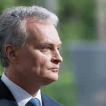 Dėl strigusio Baltijos jūros sienos ratifikavimo G. Nausėda tikisi Latvijos veiksmų