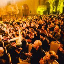Šv. Kotrynos bažnyčios sienas užliejo S. Petreikio muzikos ramybė
