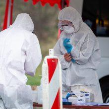 Iš Santaros klinikų pabėgo koronavirusu serganti moteris