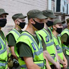 """Kijeve policija derasi su bombą verslo centre grasinančiu susprogdinti """"teroristu"""""""
