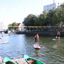 Uostamiestis vasarą palydi pramogomis vandenyje: Klaipėda švenčia Laivų paradą