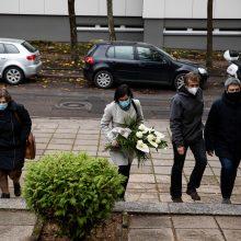 Vilniuje atiduoti pagarbą mirusiam F. Latėnui rinkosi žmonės