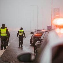 Praėjusią parą keliuose sužeisti septyni žmonės