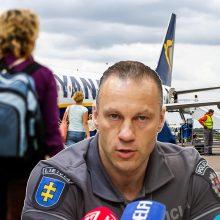 L. Pernavas: lietuviai bando vykti iš JK su padirbtais COVID-19 testais