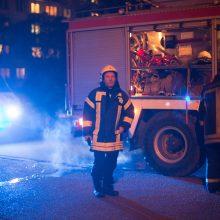 Nelaimė Vilniuje: bute kilus gaisrui žuvo moteris