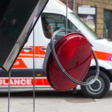 Masinė avarija Vilniuje: pranešta apie prispaustus ir nukentėjusius žmones