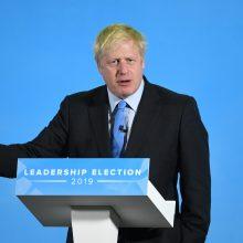 """JK į pabaigą eina naujojo premjero rinkimai: teks užduotis įgyvendinti """"Brexit"""""""