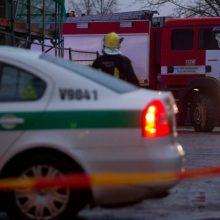 Tragiška avarija Trakų rajone: užsidegus automobiliui žuvo viduje buvęs žmogus