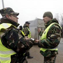 Latvijos ir Baltarusijos sieną neteisėtai kirsti bandė 20 žmonių