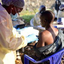 Ebolos karštligės protrūkis Kongo DR paskelbtas pasauline sveikatos krize