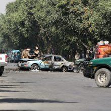 Sprogimas prie Kabulo universiteto užmušė mažiausiai keturis žmones
