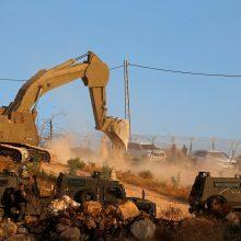 ES ragina Izraelį nedelsiant sustabdyti palestiniečių namų griovimą