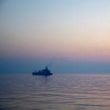 Piratai apiplėšė Pietų Korėjos laivą ir sužalojo įgulos narius