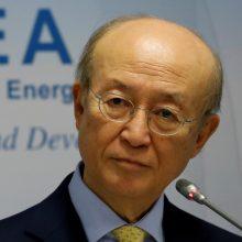 Mirė tarptautinės atominės energijos agentūros generalinis diektorius