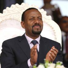 """Etiopijos premjero biuras: """"valstybė didžiuojasi"""" gauta Nobelio premija"""