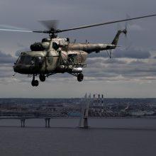 Rusijoje sudužus kariniam sraigtasparniui žuvo keturi žmonės