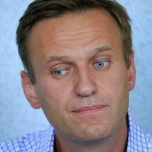A. Navalnas vadina kovą už demokratinę Rusiją sunkiu maratonu