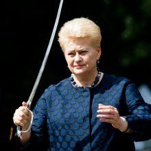 Paramos fondo kovoje su koronavirusu tarybos pirmininke paskirta D. Grybauskaitė