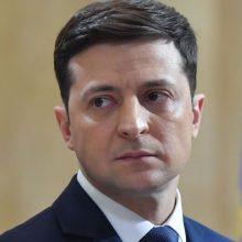 Ukrainos policija tiria galimą V. Zelenskio karantino pažeidimą: gresia bauda