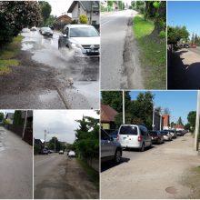 A. Stulginskio gatvėje – kaip iššūkių trasoje: pavojus ir vairuotojams, ir pėstiesiems