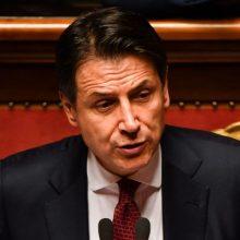Italijoje mirė koronavirusu užsikrėtęs premjero G. Conte apsaugos pareigūnas