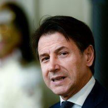 Italijos prezidentas pavedė G. Conte suformuoti naują vyriausybę