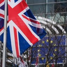 """ES vadovai prieš balsavimą parlamente pasirašė """"Brexito"""" susitarimą"""