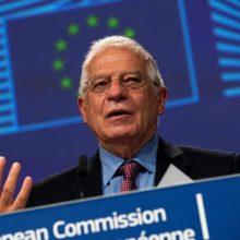 J. Borrellis: šį kartą ES taikys sankcijas pačiam A. Lukašenkai