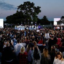 Lenkijos prezidento rinkimų nugalėtojas išlieka neaiškus