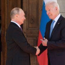 Kremlius ir Baltieji rūmai: JAV ir Rusijos viršūnių susitikimas baigėsi