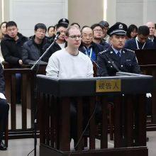 Kinijos teismas paliko galioti kanadiečiui narkotikų byloje paskelbtą mirties nuosprendį