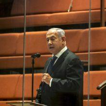 Graikijoje sudužusiu lėktuvu skrido B. Netanyahu teismo liudytojas