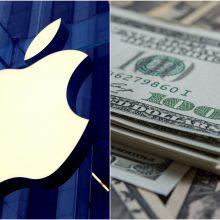 """""""Apple"""" pristatė 200 mln. JAV dolerių miškininkystės fondą, skirtą kovai su klimato kaita"""