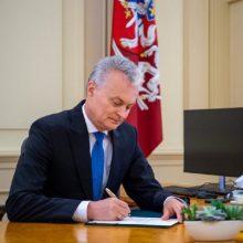 G. Nausėda: šių metų biudžetas gali būti peržiūrėtas